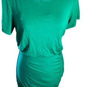 NWT CALVIN KLEIN Emerald Tshirt Dress